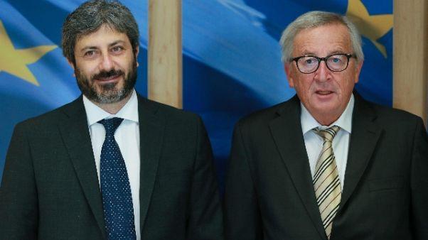 Junker-Fico, Italia nel cuore dell'Ue