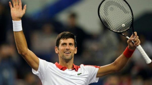 Tennis: lancement réussi pour Djokovic à Shanghaï