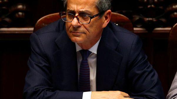 """Italy's Tria calls for """"constructive dialogue"""" with EU over budget"""