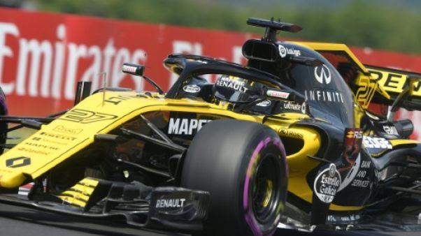 """Hülkenberg (Renault): """"conserver la 4e place chez les constructeurs"""""""