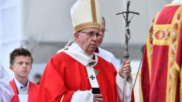Le pape François le 25 septembre 2018 à Talinn
