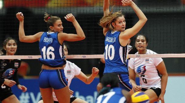 Volley: Petrini, ora due sfide difficili