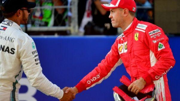 "F1: Hamilton demande ""plus de respect"" envers Vettel"