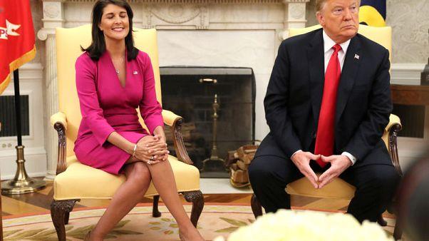 U.S. Ambassador to United Nations Nikki Haley quits - source