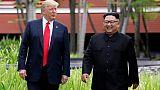 ترامب يقول اجتماعه الثاني مع زعيم كوريا الشمالية قيد الإعداد