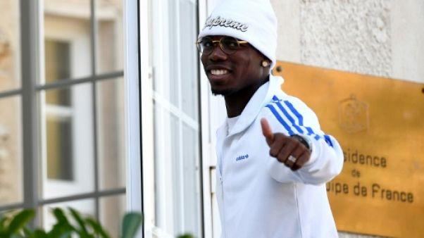 """Pogba à l'AFP: """"C'est dur de repartir et taper fort"""" après le Mondial"""