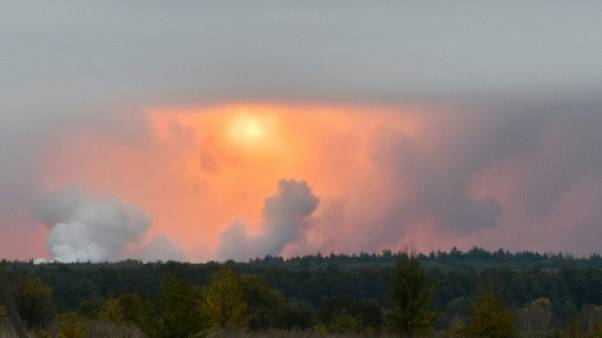 Ukraine: explosions dans un dépôt de munitions, des milliers d'évacuations