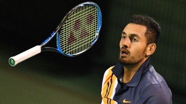 Tennis: Kyrgios, la rechute