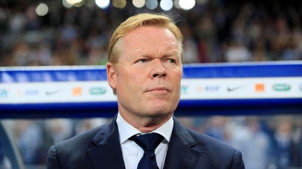 Netherlands coach Koeman won't rest Champions League players