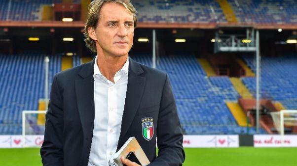 Mancini, 'Bisogna cominciare a vincere'