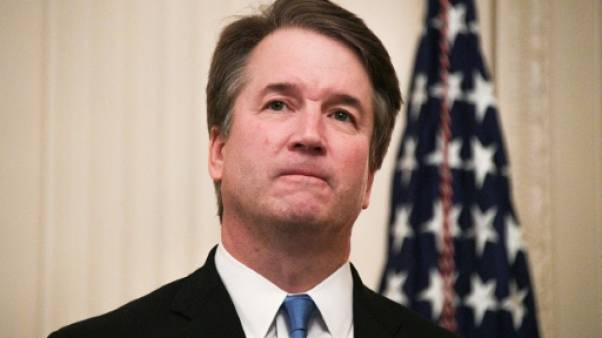 Le juge Brett Kavanaugh à Washington DC., le 08 octobre 2018