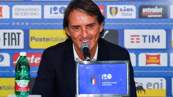 """Mancini: """"Spero in più leader tecnici"""""""