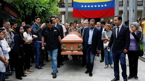 Venezuela opposition honors politician who died in jail, U.N. calls for probe