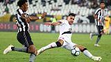 Botafogo draw 1-1 with Vasco in Rio