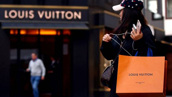 LVMH and luxury shares slide as China concerns linger