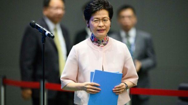"""Hong Kong """"agira sans faiblesse"""" contre les appels à l'indépendance"""