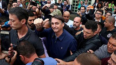 Brazil's Bolsonaro opposes pension vote this year if elected - aide