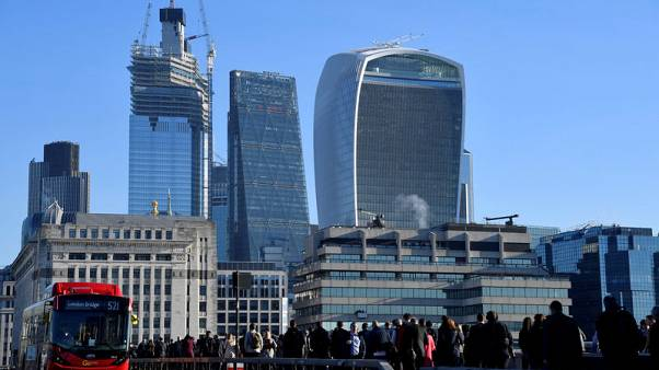 Britain expects 5,000 financial services jobs to leave by Brexit Day