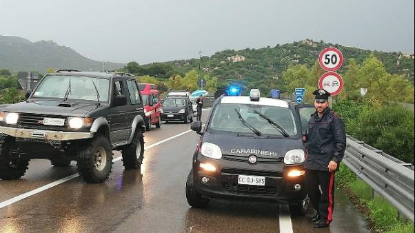 Maltempo: allerta rossa in Sardegna