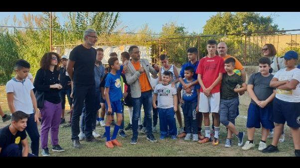 """Zorzi coach """"di strada"""" a Reggio C."""