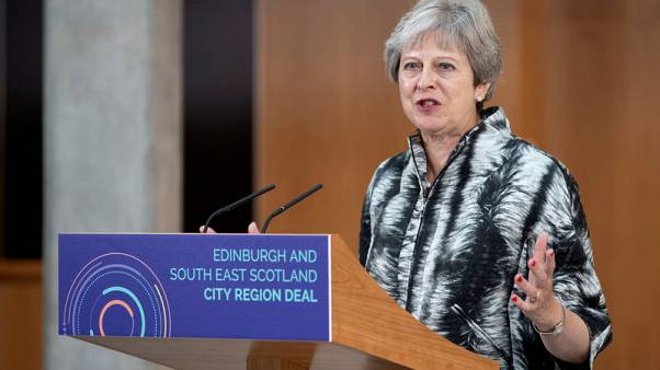 British PM May says UK ready to join trans-Pacific trade pact