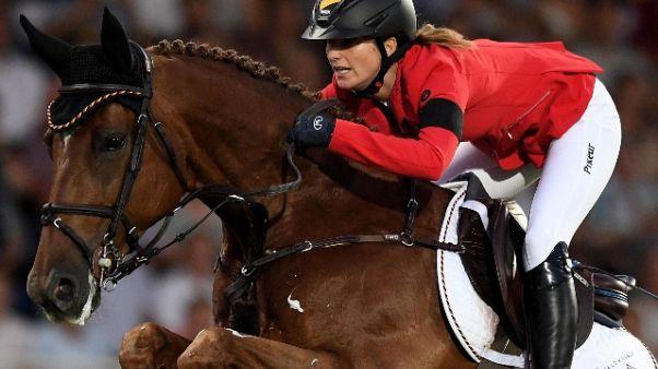 Equitazione: Jumping Verona,tante stelle