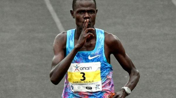 Dopage: un marathonien kényan suspendu quatre ans
