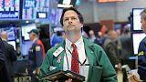 الأسهم الأمريكية تهبط مع ارتفاع العائد على السندات الأمريكية