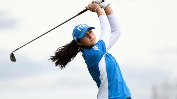 Olimpiadi Giovanili:golf,Nobilio per oro