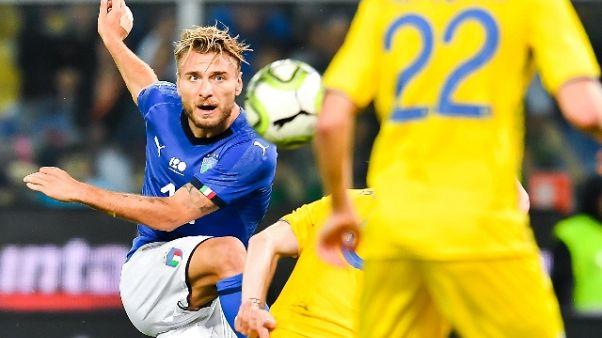 Italia-Ucraina 1-1 a Marassi