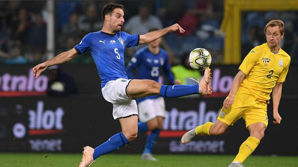 Soccer - Italy held by Ukraine despite promising first half