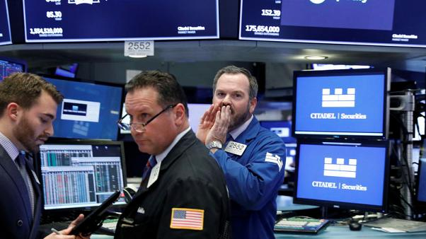 Rattled Wall Street stock investors fret about a correction