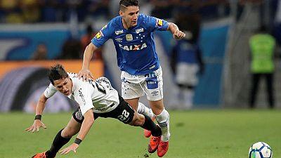 Cruzeiro win first leg of Copa do Brasil final 1-0