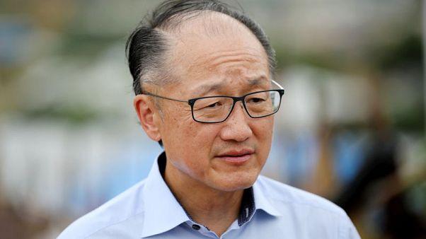 World Bank's Kim sees 'clear' economic slowdown if trade war escalates