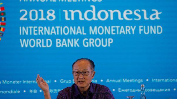 """رئيس البنك الدولي يتوقع تباطؤا اقتصاديا """"واضحا"""" إذا تصاعدت حرب التجارة"""