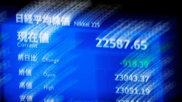 نيكي يتكبد أكبر انخفاض يومي منذ مارس وسط تراجع عالمي