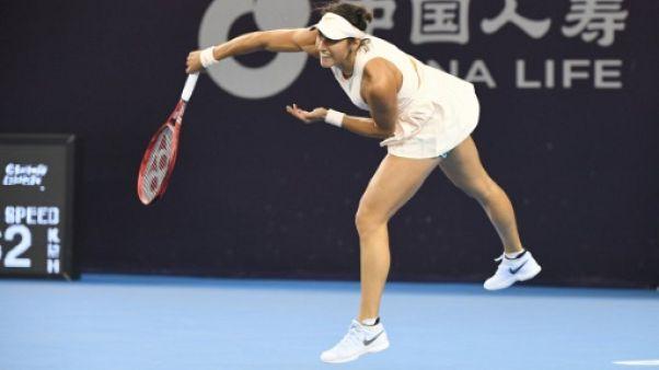 La Française Caroline Garcia lors du tournoi de Pékin, le 4 octobre 2018