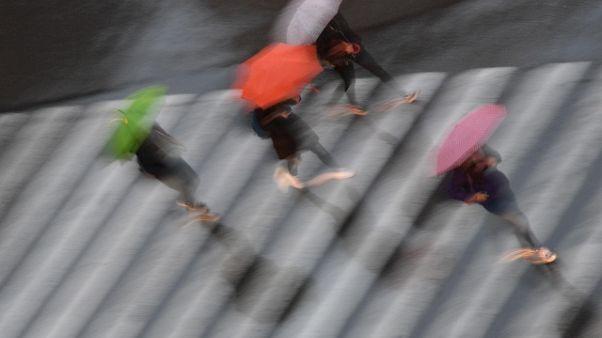 Maltempo, oltre 350 mm di pioggia caduti