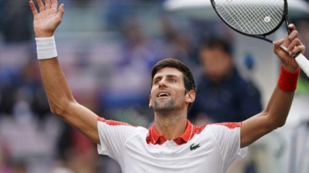 Tennis: Djokovic expéditif à Shanghai pour passer en quarts