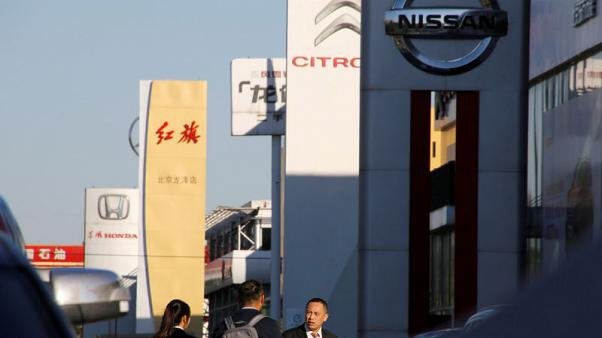 Exclusive - Reverse gear: China car dealers push for tax cut as auto growth stalls