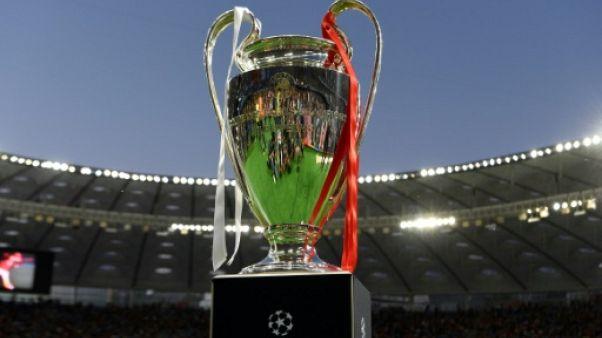 Le trophée de la Ligue des champions, le 26 mai 2018 à Kiev