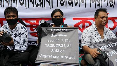 Some journalists in Bangladesh allege 'breach of trust' over press freedoms