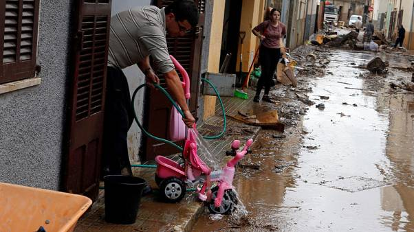 Death toll from floods rises to 12 on Spanish island of Mallorca