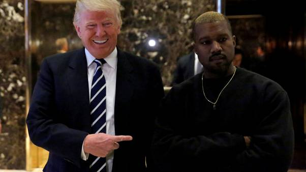 Trump praises Kanye West, will talk justice reform at lunch