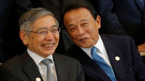 أسو: اليابان تراقب بحرص شديد تقلبات الأسواق بما في ذلك  العملات