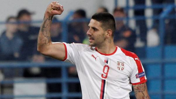 Soccer - Mitrovic double gives Serbia 2-0 win at Montenegro
