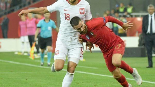 Ligue des nations: le Portugal gâche la 100e de Lewandowski
