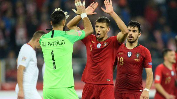 البرتغال في ثوبها الجديد تهزم بولندا 3-2 في دوري الأمم الاوروبية