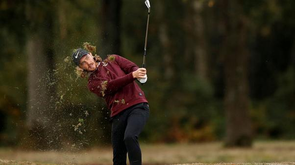 Golf - Fleetwood hits monster drive en route to share of British Masters lead