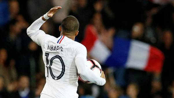 Mbappe saves French blushes in 2-2 draw with Iceland